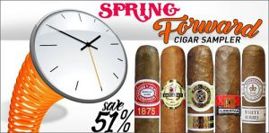 spring forward cigar sampler